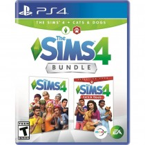 The Sims 4 + Cats & Dogs Bundle - Sony PlayStation 4