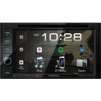 "Kenwood - 6.2"" - Built-in Bluetooth - In-Dash CD/DVD/DM Receiver - Black"