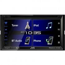 "JVC - 6.2"" - Built-In Bluetooth - In-Dash CD/DVD Receiver - Black"