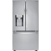 LG 29.7 Cu. Ft. French Door-in-Door Refrigerator PrintProof Stainless Steel (w/Kit)