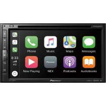 "Pioneer - 6.8"" - Android Auto/Apple CarPlay - Bluetooth - In-Dash CD/DVD/DM Receiver - Black"