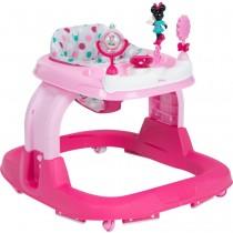 Disney - Baby Ready, Set, Walk! 2.0 Developmental Walker - Minnie Dot Fun