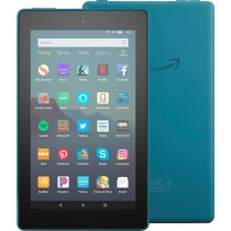 "Amazon - Fire 7 2019 release - 7""- Tablet - 16GB - Twilight Blue"