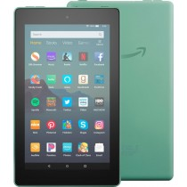 """Amazon - Fire 7 2019 release - 7""""- Tablet - 16GB - Sage"""