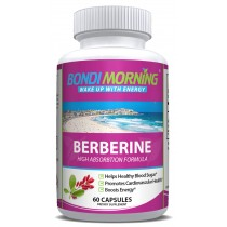 Berberine HCL Supplement - 1200mg 60 Capsules