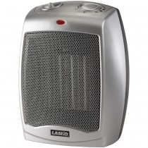 Lasko Ceramic Heater with Adjustable Thermostat