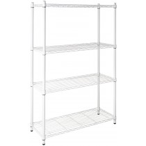 Honey Can Do 4-Tier Steel Urban Adjustable Storage Shelving Unit