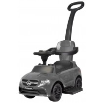 Mercedes 3 in 1 Push Car, Grey