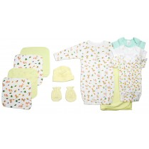 Bambini Neutral Newborn Baby 11 Pc Layette Baby Shower Gift Set