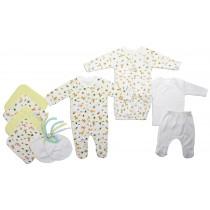 Bambini Neutral Newborn Baby 10 Pc Layette Baby Shower Gift Set