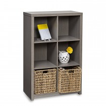 Honey Can Do Premium Laminate 6-Cube Organizer Shelf