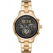 Michael Kors Access Unisex Runway Gold-Tone Stainless Steel Bracelet Touchscreen Smart Watch 41mm