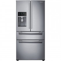 Samsung 24.7 Cu. Ft. 4-Door French Door Refrigerator - Stainless (w/Kit)