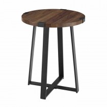 """18"""" Metal Wrap Round Side Table"""