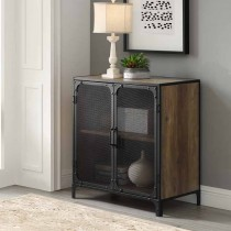 """30"""" Industrial Accent Cabinet w/ Mesh"""