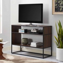 """40"""" Metal and Wood Storage Console"""