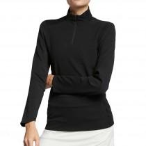 Nike Women's Dry UV 1/4 Zip Top - Black
