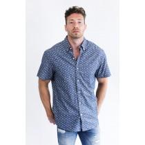 Anchor Print Shirt Navy