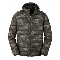 Eddie Bauer Men's CirrusLite Hooded Down Jacket - Camo