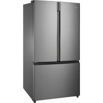 Insignia - 26.6 Cu. Ft. French Door Refrigerator - Stainless steel (w/ Kit)