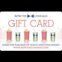 Bow Tie Cinemas eCertificate