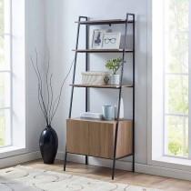 """72"""" Metal & Wood Ladder Storage"""