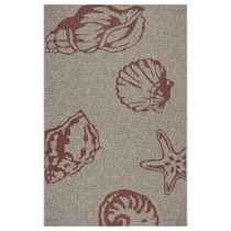 Captiva Jewel Beach Indoor/Outdoor Area Rug