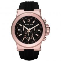 Michael Kors Men's Black Chronograph Watch, 45mm