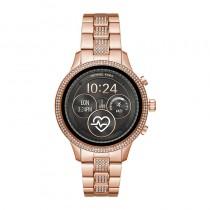 Michael Kors Access Unisex Runway Rose Gold-Tone Stainless Steel Bracelet Touchscreen Smart Watch 41mm