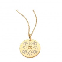 Gucci Icon Necklace In 18K Yellow Gold