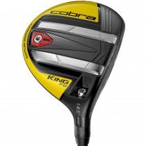 Cobra King F9 Speedback Black/Yellow Fairway Wood - Right Hand/3w-4w/Fujikura Atmos Blue 7 Stiff Flex
