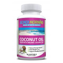 Organic Coconut Oil Softgels 1000mg 60 caps