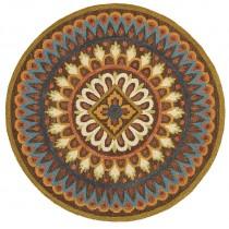 Dazzle Floral Mandala Indoor Area Rug