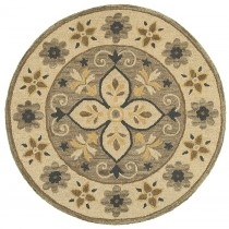 Dazzle Bucolic Medallion Indoor Area Rug