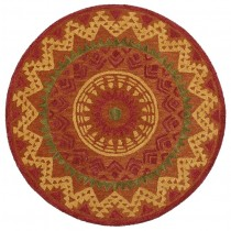 Dazzle Southwestern Medallion Indoor Area Rug