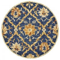 Dazzle Jacobean Diamond Indoor Area Rug