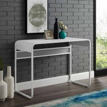 """42"""" Metal Desk with curved top"""