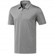 Adidas Ultimate365 Two-Color Stripe Men's Polo - Grey/Grey