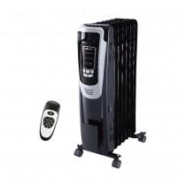 EcoHouzng Electric Oil Radiator Heater Black