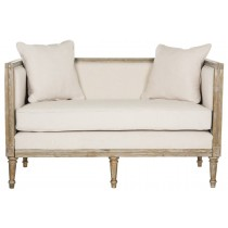 Leandra French Country Settee by Safavieh