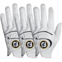 Footjoy 2019 StaSof Golf Gloves (3-Pack) - Men's/Left Hand