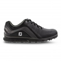 Footjoy Pro SL Men's Spikeless Golf Shoes - Black/Charcoal