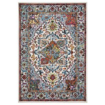 Fusion Bohemian Aubusson Indoor Area Rug