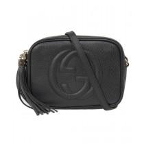 Gucci Soho Disco Bag in Black Leather