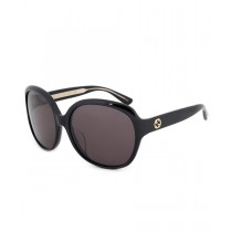 Gucci Oversized Sunglasses GG0080SK 001 61