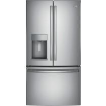 GE 27.8 Cu. Ft. French Door in Door Refrigerator Stainless Steel (w/Kit)