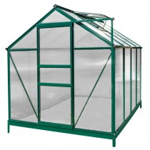Sundale Outdoor Green House 8'(L) x 6'(W) x 6.6'(H)