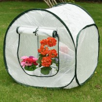"""Sundale Outdoor Single Tier Green House Mini with PE Cover, 25.3""""(L) x 26.4""""(W) x 27.6""""(H)"""