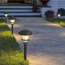 Metal LED Path Light Kit 6-Pack
