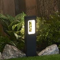 Cast Aluminum Square LED Bollard Light
